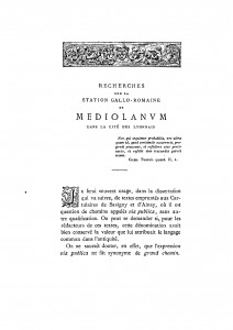 Durand_1873_Recherches sur Mediolanum